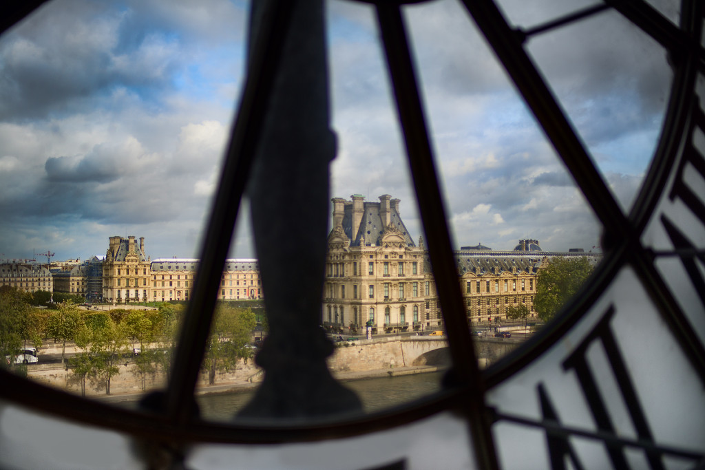 Louvre from Musee d'Orsay © Harold Davis