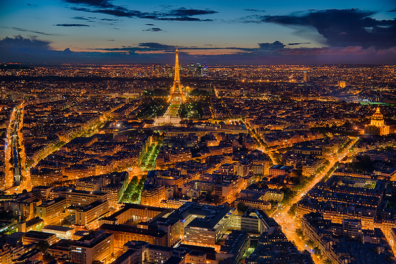 Paris Sunset © Harold Davis