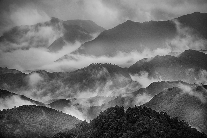 Misty Mountains © Harold Davis
