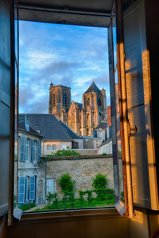 Window in Bourges © Harold Davis