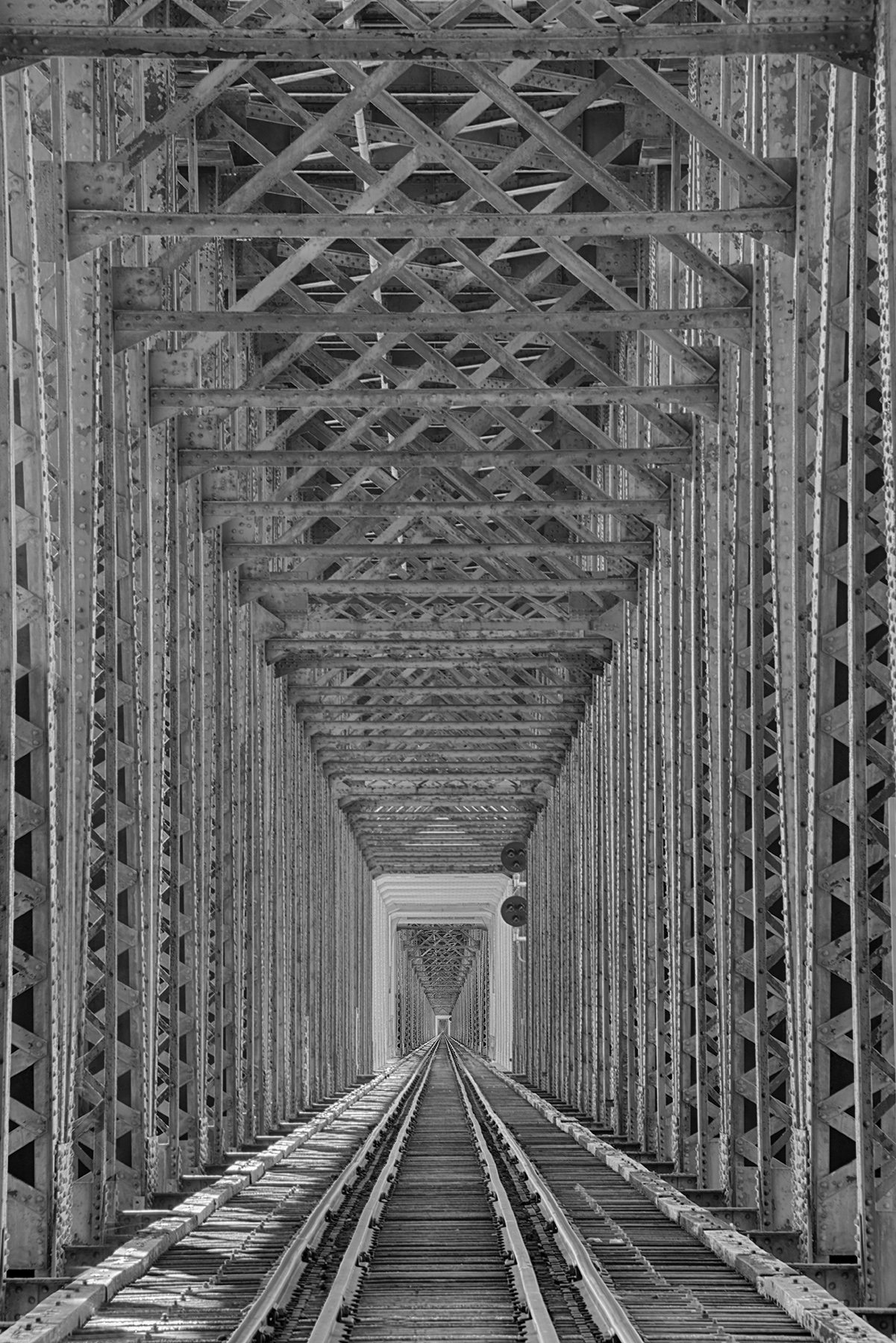 Old Train Bridge © Harold Davis